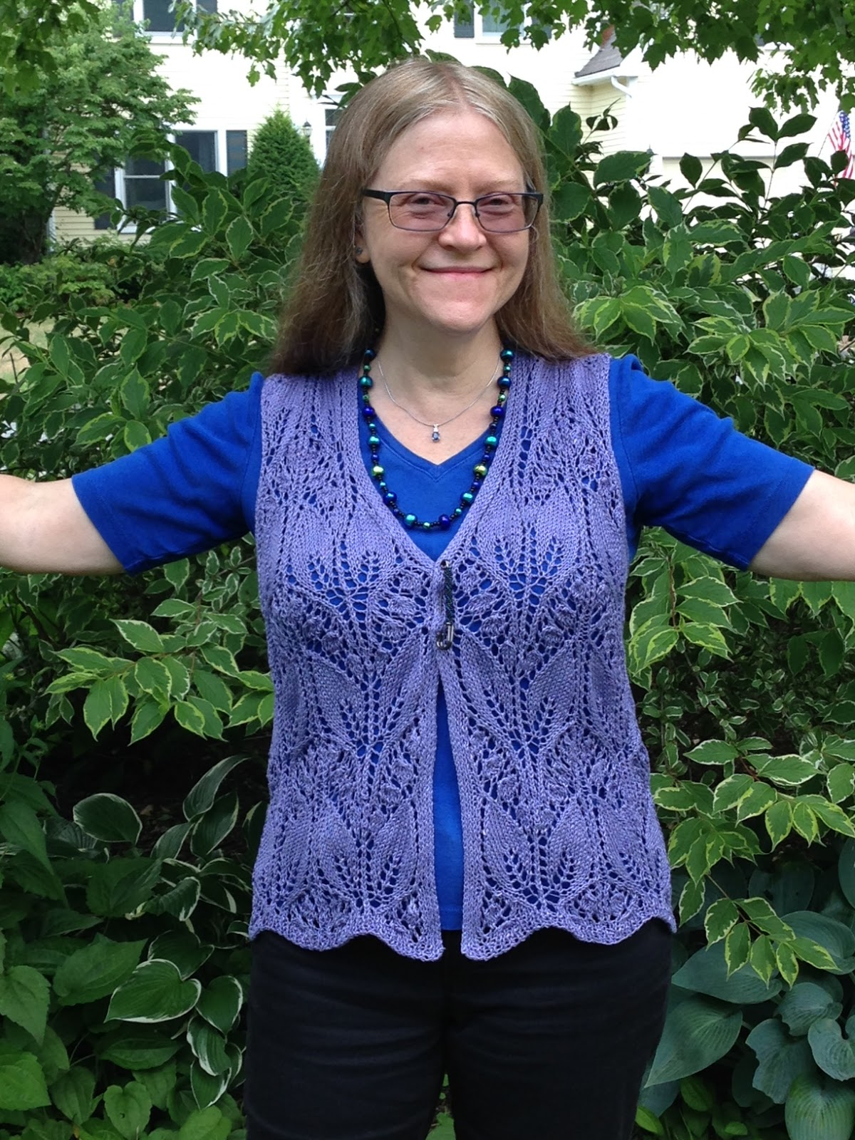 Jeri Rigged: Lily of the Valley Vest