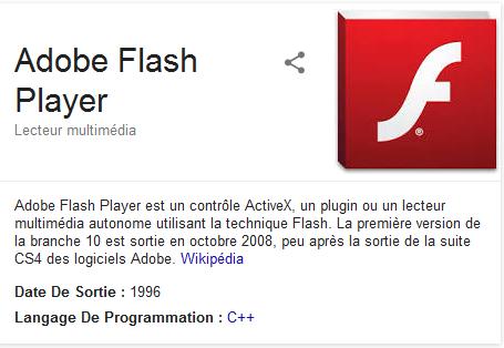 Flash playet IE et firefox