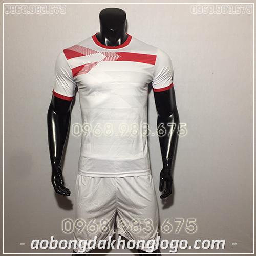 Áo Bóng Đá Ko Logo F50 Adi màu xanh trắng
