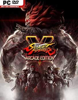 Street Fighter 5 - Arcade Edition Jogos Torrent Download capa