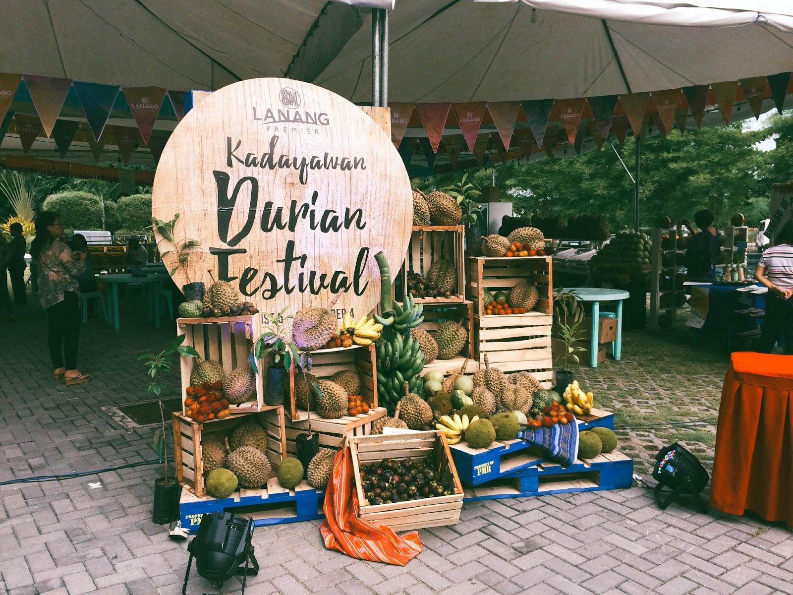 SM Lanang Premier opens Kadayawan with month-long Durian Fest
