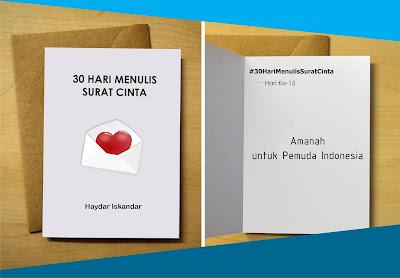gobloghaydar.blogspot.co.id pesan surat cinta untuk Indonesia medeka