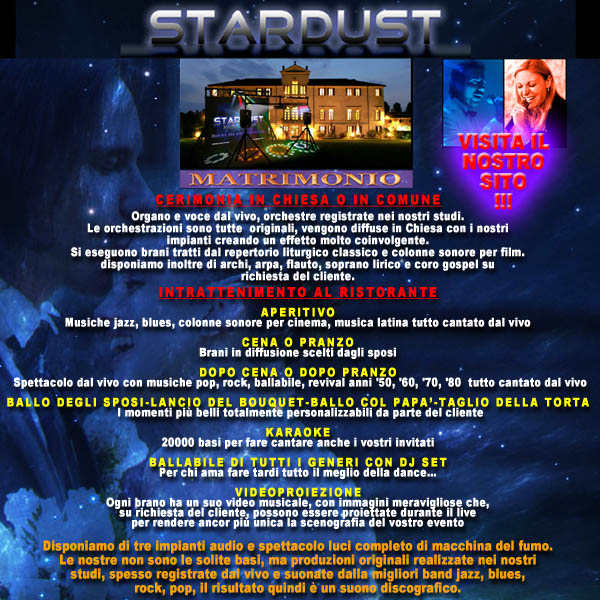 STARDUST MUSIC GROUP SU PIANO PREMIUM EUROPE