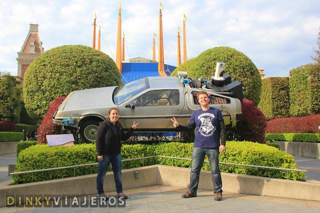 Universal Studios Japan. Área Regreso al futuro