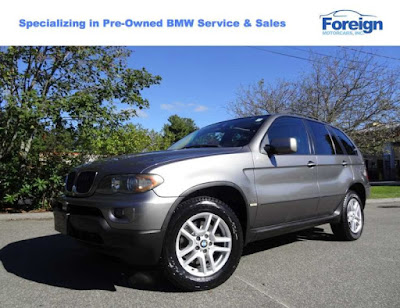 2005 BMW X5 3.0i, Sterling Gray Metallic, Foreign Motorcars Inc, Quincy Massachusetts, 02169, For Sale