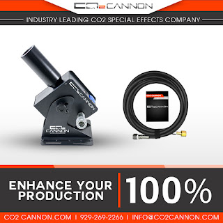 Enhance Your Production 100% and create your own Smoke Special Effects with the CO2 Cannon MEGA Jet
