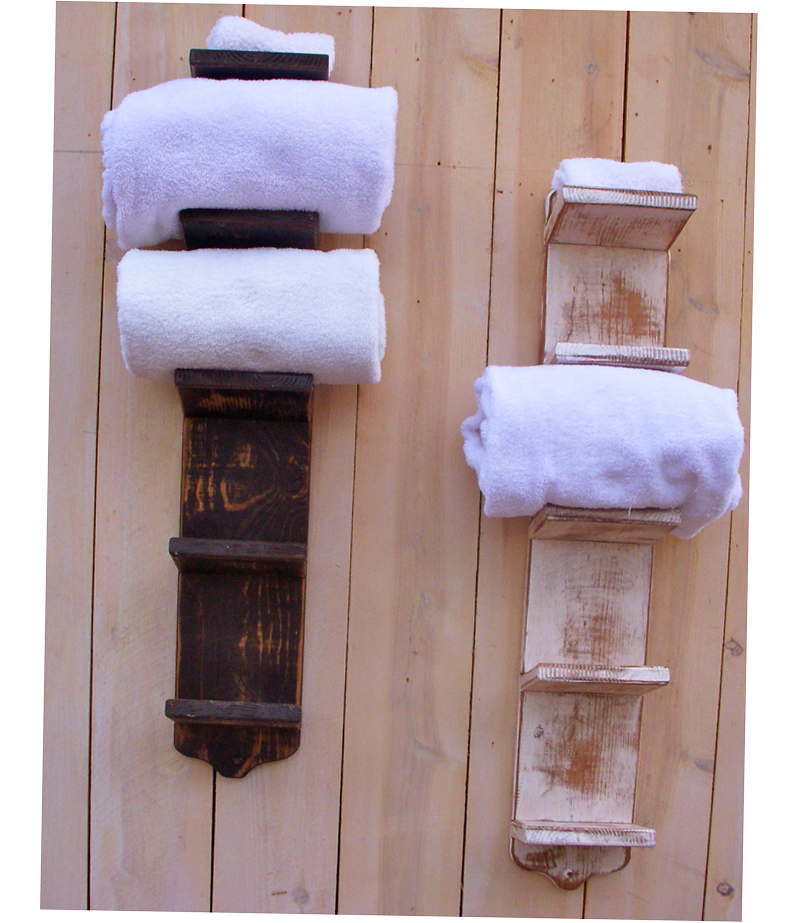 Bathroom towel storage ideas creative 2016 ellecrafts for Unusual storage ideas