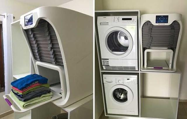Ήρθε το μηχάνημα που διπλώνει και «σιδερώνει» τα ρούχα μετά το πλυντήριο (ΒΙΝΤΕΟ)
