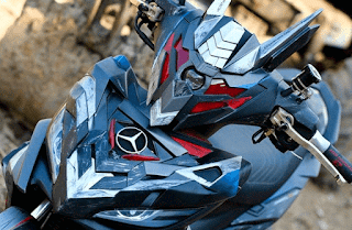 Motor Keren dan Terhebat Mirip Transformer