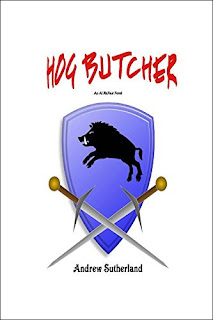 Hog Butcher- 2nd edition, Action and crime with a slice of Chicago Pizza by Andrew Sutherland