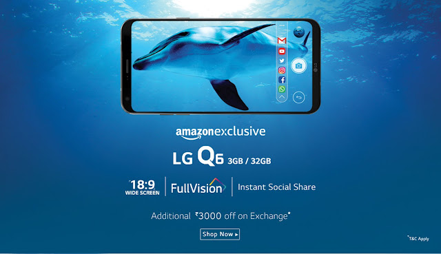 LG Q6 launched in India | FullVision Display | Specs, Price and Availability