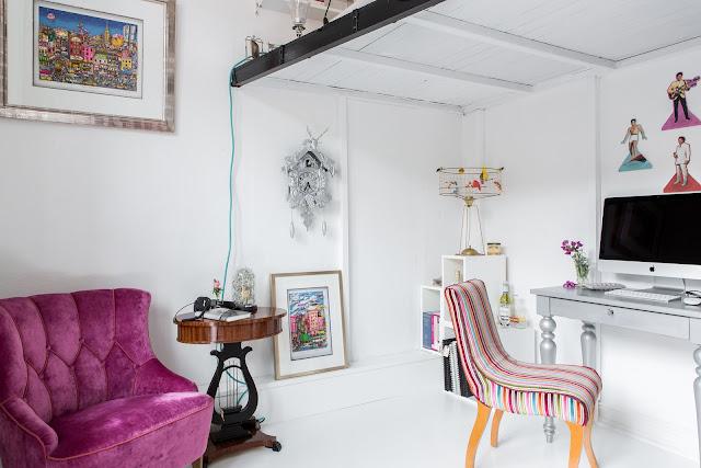 Dormitor la înălțime într-o garsonieră de numai 26 m²