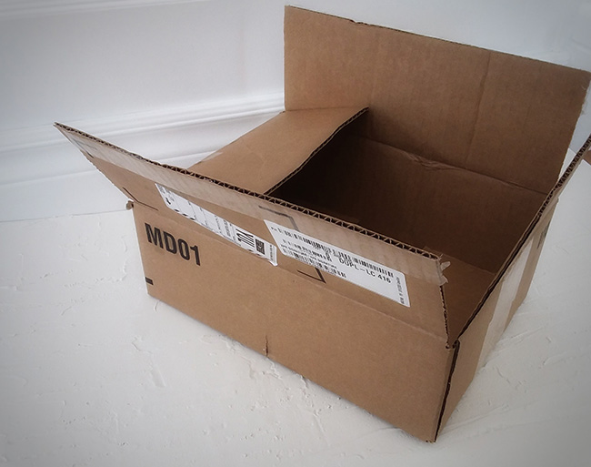 original cardboard box