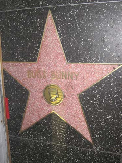 Bugs Bunny's Star.