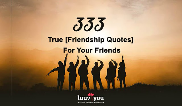 333+ Friendship Quotes For Your True Friends [2020]