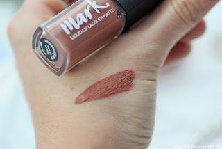 Review: Avon - 4 matte Mark Lippis - Liquid Lipstick matt - www.annitschkasblog.de
