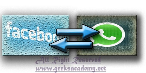 How to sync Facebook contacts with WhatsApp contacts.