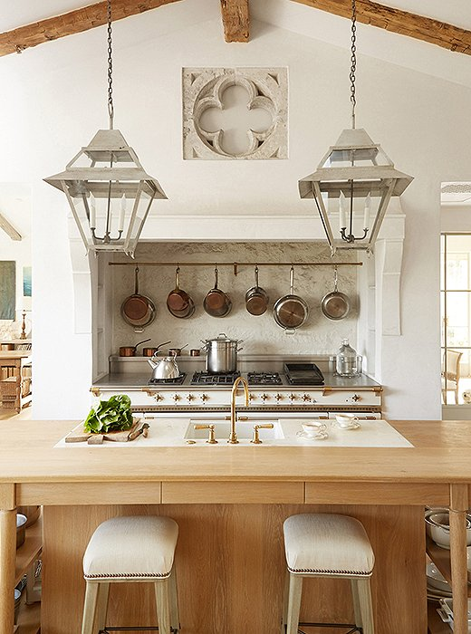 Inspiring Interior Design Inspiration In Modern French Farmhouse Kitchen    Found On Hello Lovely Studio ...