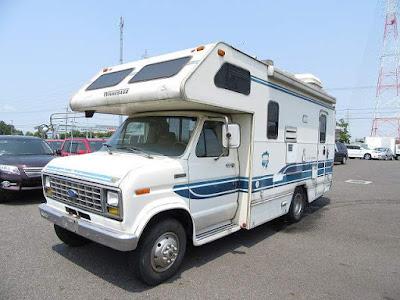 19552A7N8 1991 Ford Winnebago Camping LHD