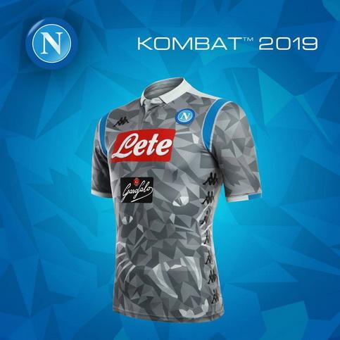 8ed56ca2acaa3 comprar camisetas futbol  Nueva camisetas de Napoli 2018 2019 Tercera
