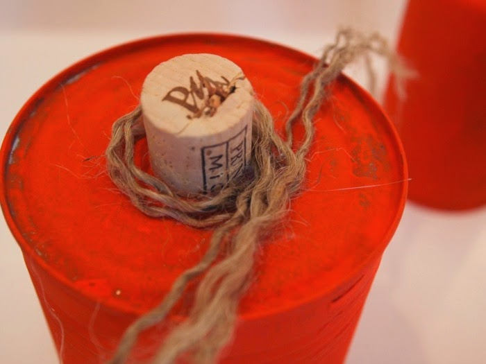 Twine Vine on #tincanpumpkins #crafting #fallcrafts #recycling