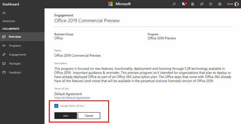 Here's how to download Office 2019 Commercial Preview deployment