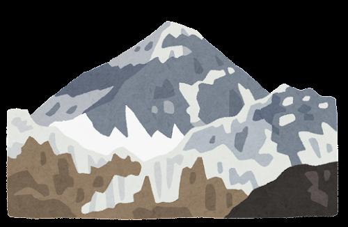 エベレストのイラスト