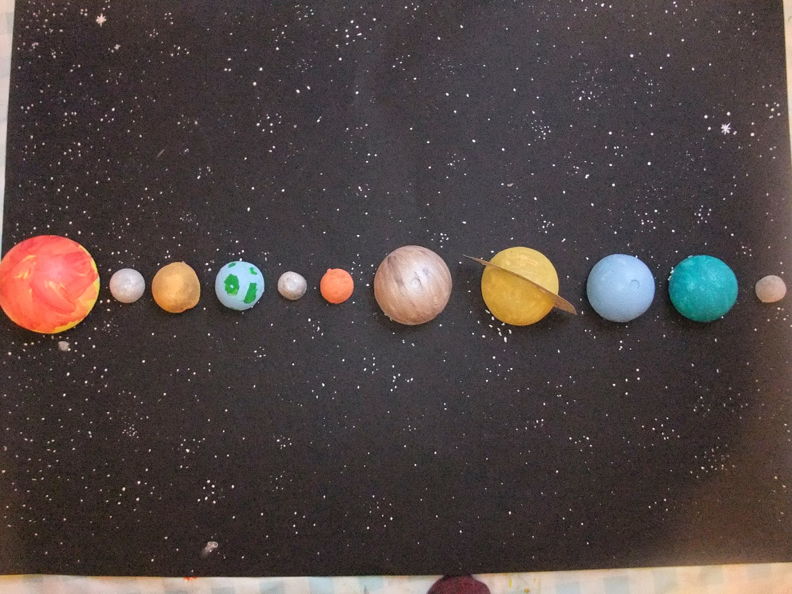 planets in a cardboard project - photo #6