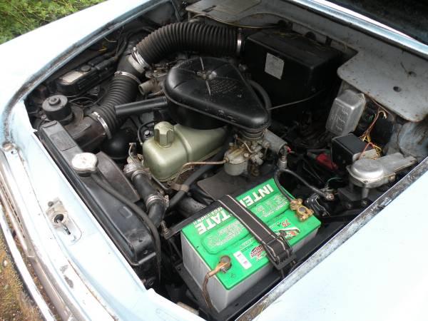 1961 Hillman Minx Auto Restorationice