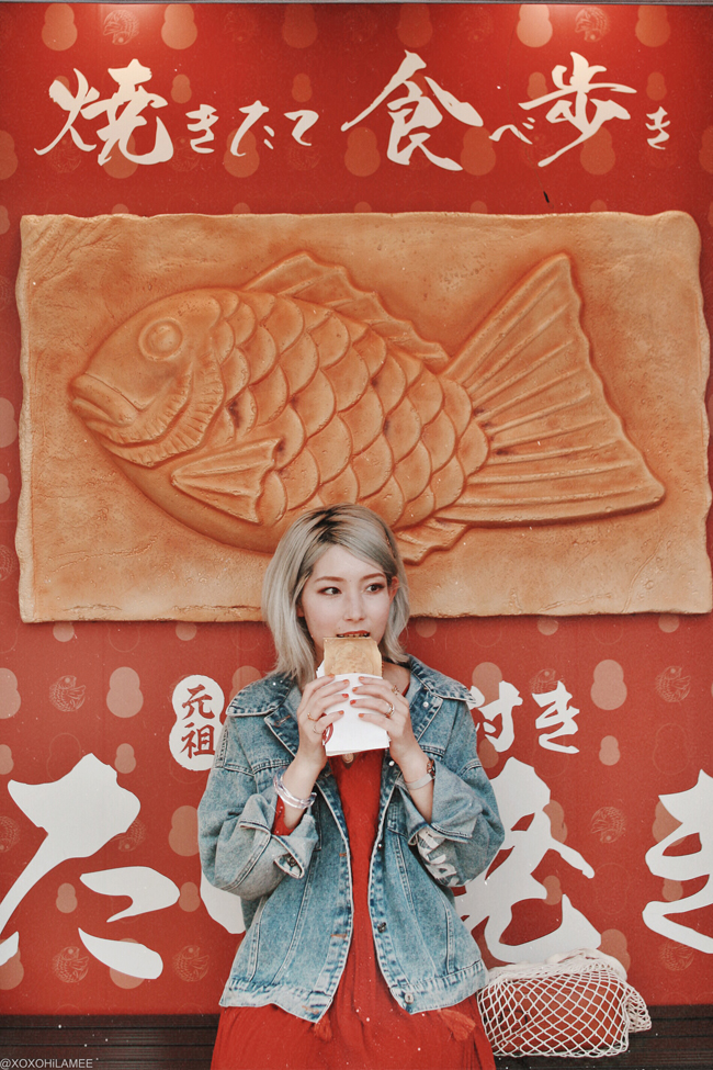 Japanese Fashion Blogger,MizuhoK, 2019,04-06 photo diary Taiyaki