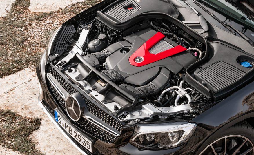 GLC43 2017 sở hữu khối động cơ mạnh hơn GLC Coupe và GLC thường rất nhiều