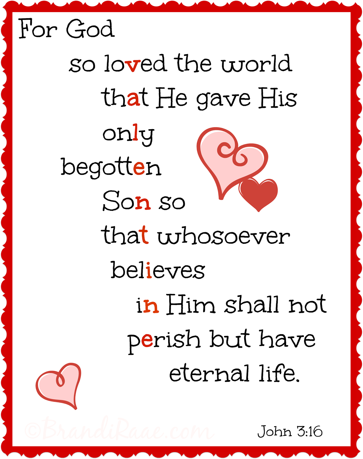 Brandi Raae For God So Loved The World Printable