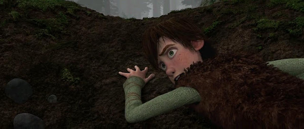 Screen Shot Of Hollywood Movie How to Train Your Dragon (2010) In Hindi English Full Movie Free Download And Watch Online at worldfree4u.com
