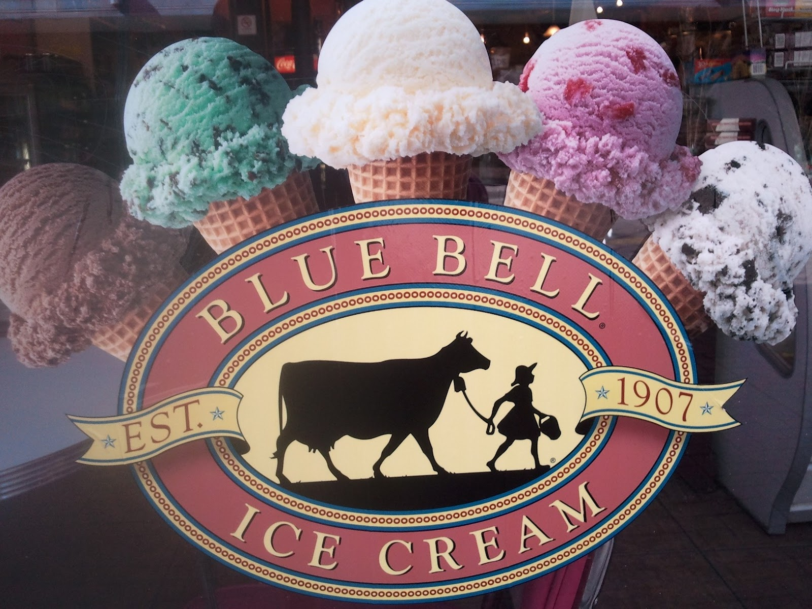 Blue Bells Birthday Cake Ice Cream