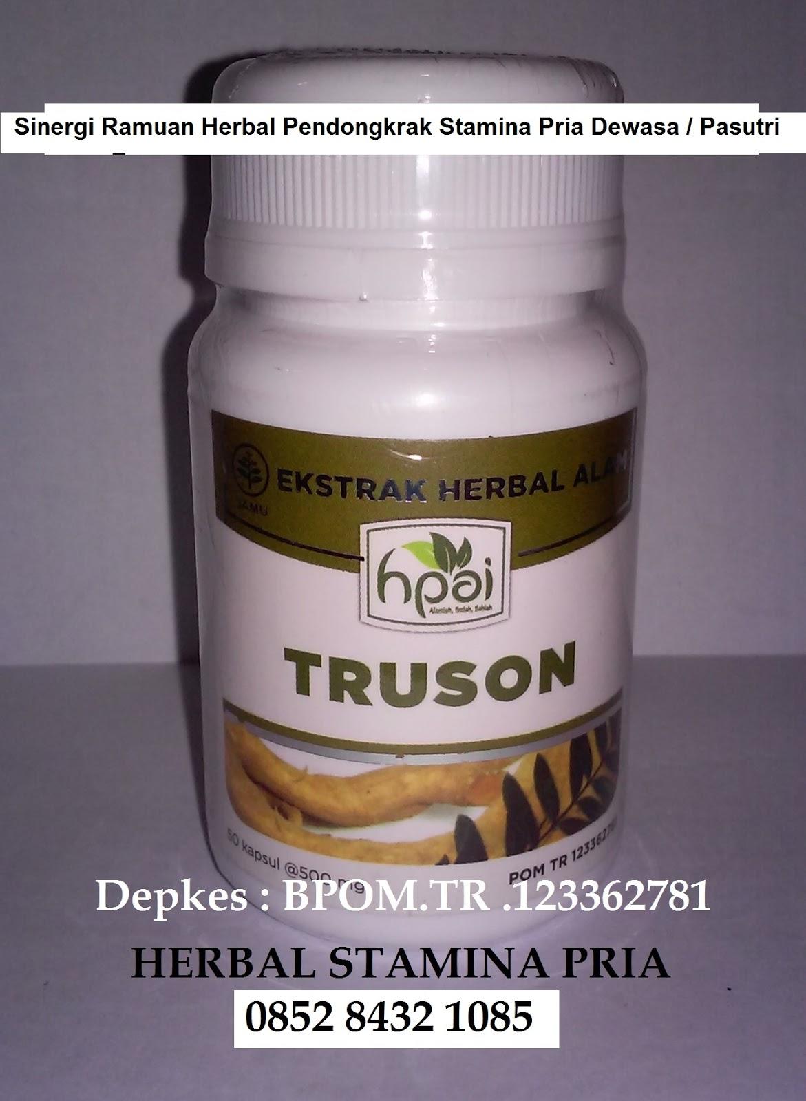 khasiat mantap truson hpai obat herbal untuk vitalitas