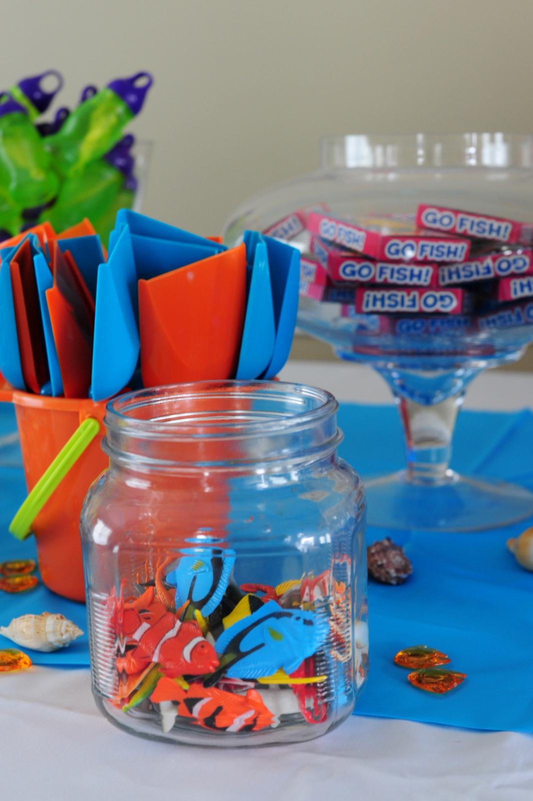 Leafy Tree Tops Ocean Themed Birthday Party