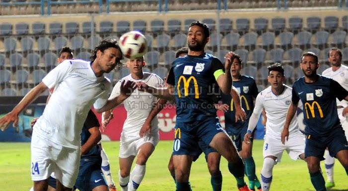 الانتاج الحربي يحقق الفوز على فريق إنبي بهدف وحيد بدون رد في الدوري المصري