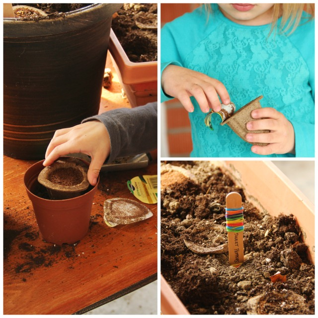 Tips for how to host a Start a Garden play date with kids.
