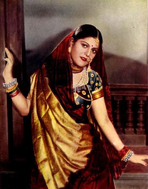 Sardar Akhtar in Aurat 1940