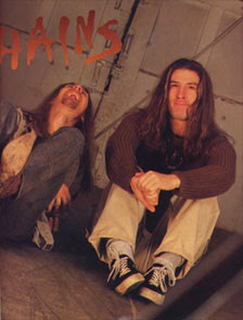 ALICE IN CHAINS - INTERVIEW 1996. HARD'N HEAVY Magazine #23