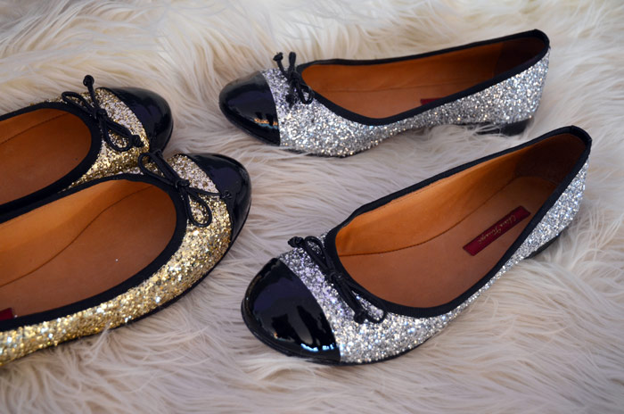 Sunday Shoe Love; 'Glitter Shoes' by Chiara Ferragni