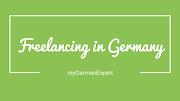 Freelancing in Germany