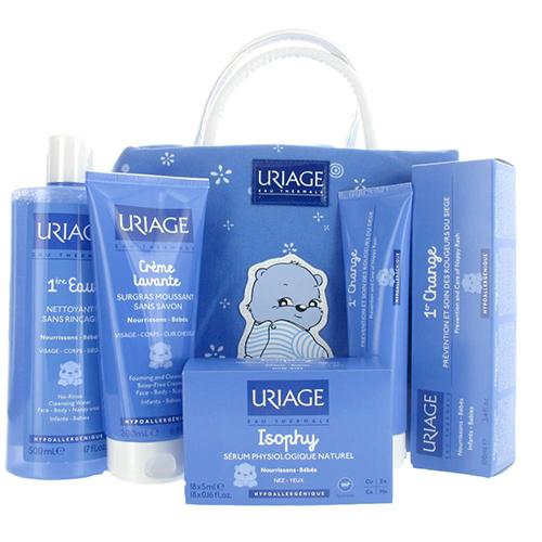 linea de cuidado del bebé de Uriage
