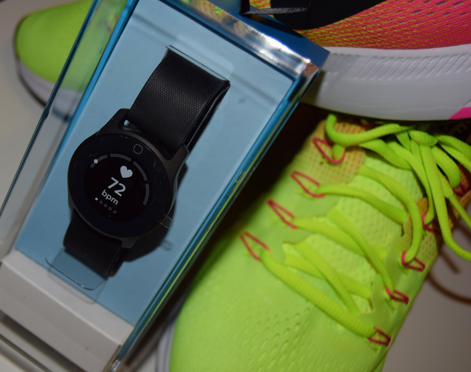 Nike trainer and watch