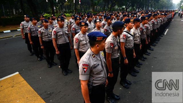 Kawal #2019PrabowoPresiden, Polisi Terjunkan 1.625 Personel