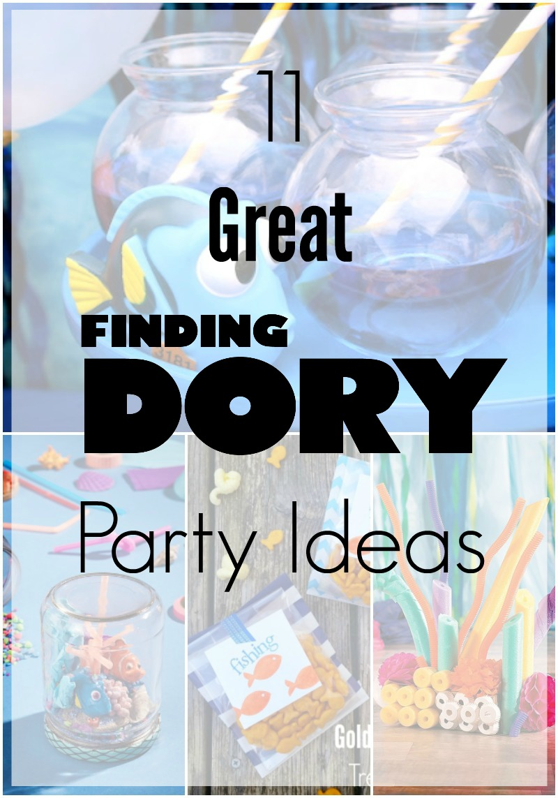 This summer, Finding Dory is the hottest party theme this year; check out these 11 great party ideas