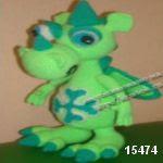patron gratis dragon amigurumi