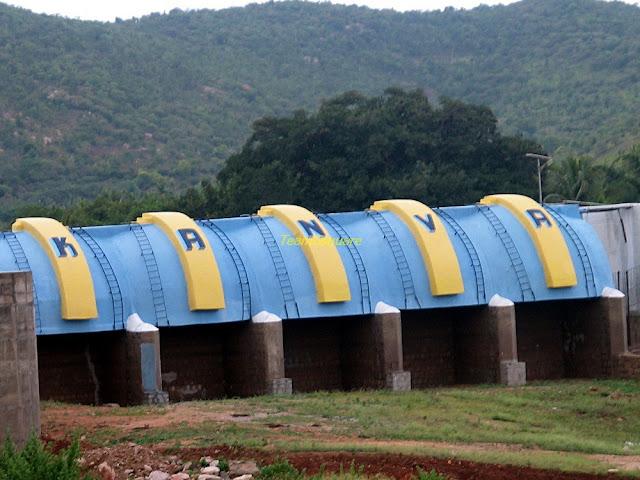 Kanva Dam near Bengaluru