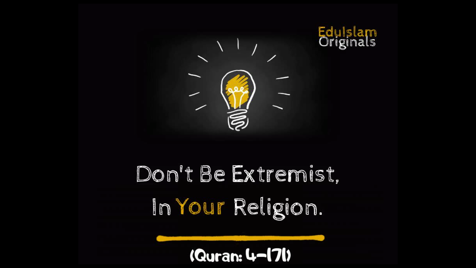 Extremism In Islam