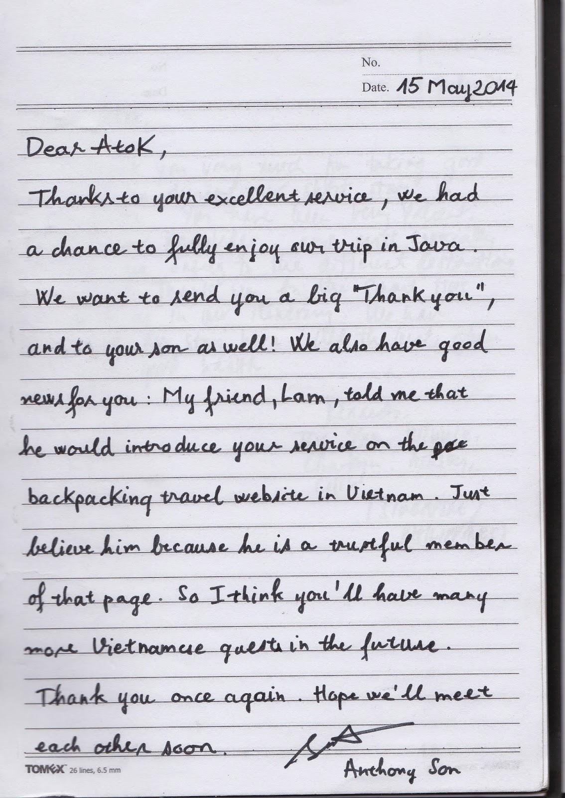 yogyakarta driver ATOK - testimony